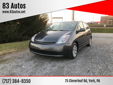 2008 Toyota Prius for sale at 83 Autos in York PA