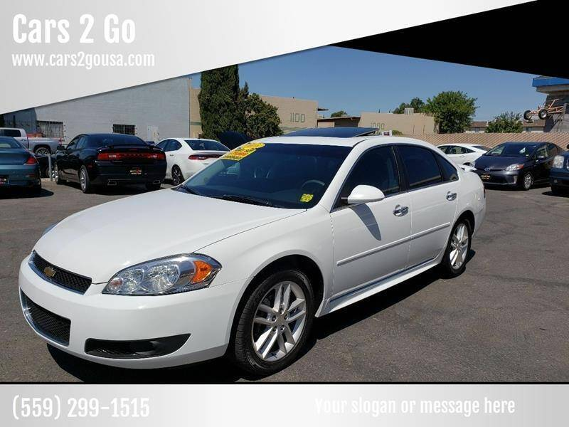 2016 Chevrolet Impala Limited for sale at Cars 2 Go in Clovis CA