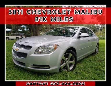 2011 Chevrolet Malibu for sale at AFFORDABLE ONE LLC in Orlando FL