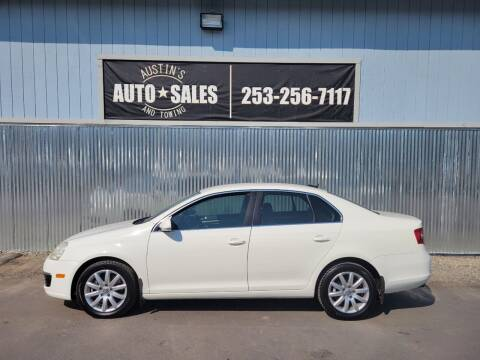 2007 Volkswagen Jetta for sale at Austin's Auto Sales in Edgewood WA