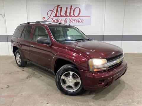 2007 Chevrolet TrailBlazer for sale at Auto Sales & Service Wholesale in Indianapolis IN