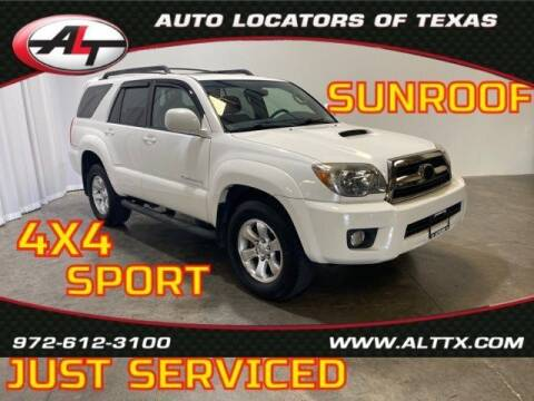 2006 Toyota 4Runner for sale at AUTO LOCATORS OF TEXAS in Plano TX
