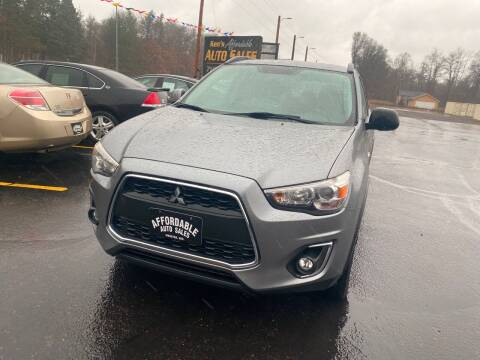 2013 Mitsubishi Outlander Sport for sale at Affordable Auto Sales in Webster WI