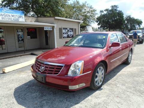2010 Cadillac DTS for sale at New Gen Motors in Bartow FL