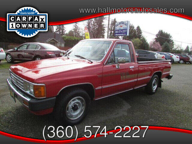 1986 Toyota Pickup for sale at Hall Motors LLC in Vancouver WA
