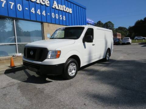 2017 Nissan NV Cargo for sale at Southern Auto Solutions - 1st Choice Autos in Marietta GA
