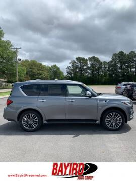 2018 Infiniti QX80 for sale at Bayird Truck Center in Paragould AR