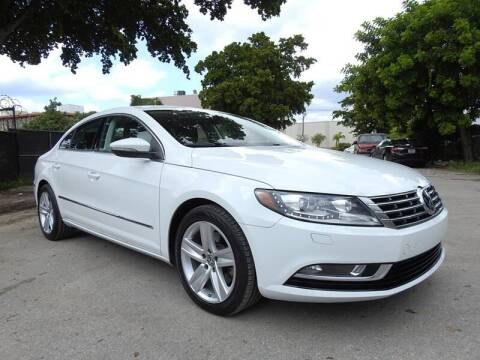2017 Volkswagen CC for sale at SUPER DEAL MOTORS in Hollywood FL