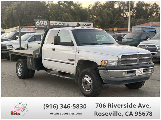 2002 Dodge Ram Pickup 3500 for sale at OT CARS AUTO SALES in Roseville CA
