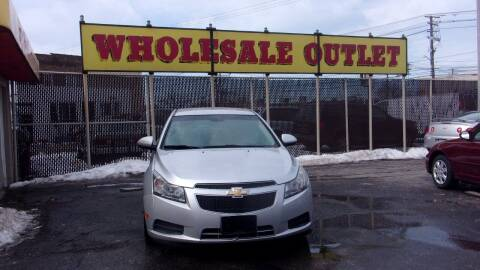 2013 Chevrolet Cruze for sale at LONG BROTHERS CAR COMPANY in Cleveland OH