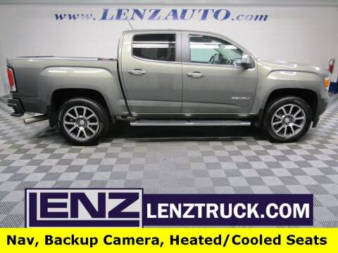 2017 GMC Canyon for sale at LENZ TRUCK CENTER in Fond Du Lac WI