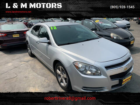 2012 Chevrolet Malibu for sale at L & M MOTORS in Santa Maria CA