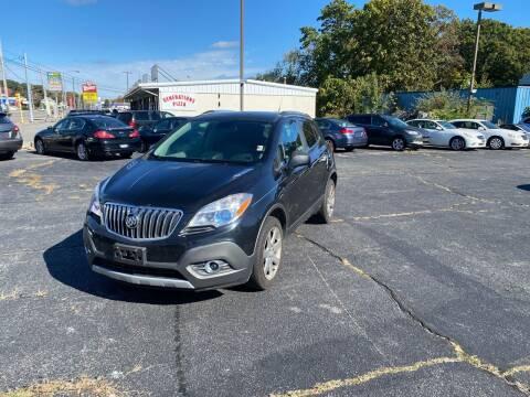 2013 Buick Encore for sale at M & J Auto Sales in Attleboro MA