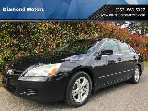 2007 Honda Accord for sale at Diamond Motors in Lakewood WA