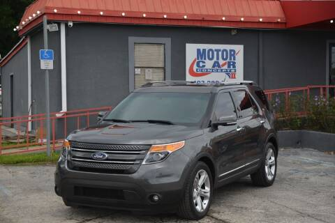 2015 Ford Explorer for sale at Motor Car Concepts II - Kirkman Location in Orlando FL