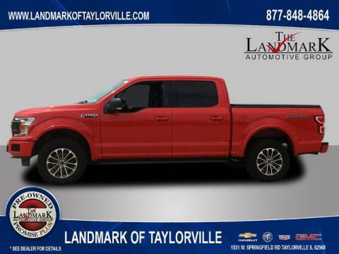 2018 Ford F-150 for sale at LANDMARK OF TAYLORVILLE in Taylorville IL
