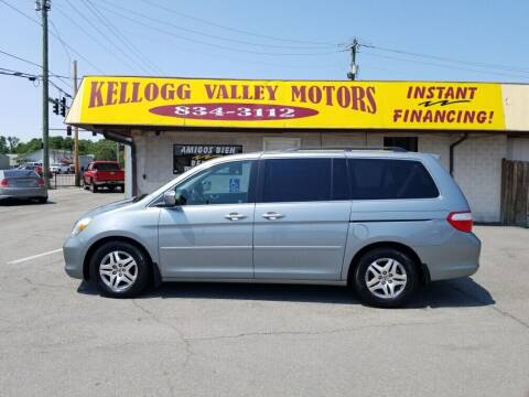 2007 Honda Odyssey for sale at Kellogg Valley Motors in Gravel Ridge AR