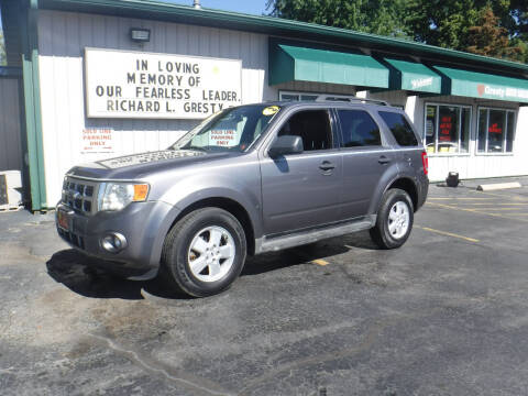 2009 Ford Escape for sale at GRESTY AUTO SALES in Loves Park IL