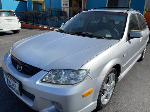 2002 Mazda Protege5 for sale at CARZ in San Diego CA