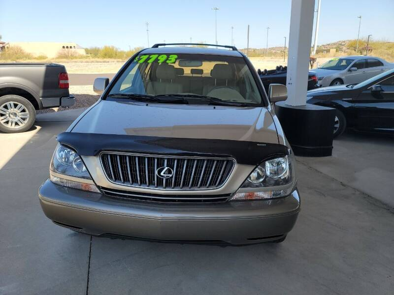 2000 Lexus RX 300 for sale at Carzz Motor Sports in Fountain Hills AZ