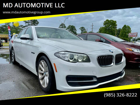 2014 BMW 5 Series for sale at MD AUTOMOTIVE LLC in Slidell LA