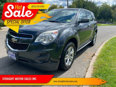 2013 Chevrolet Equinox for sale at STRAIGHT MOTOR SALES INC in Paterson NJ