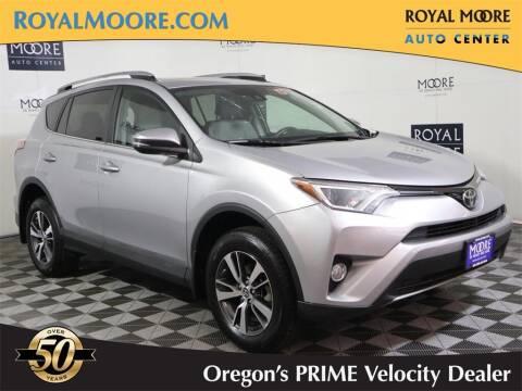 2017 Toyota RAV4 for sale at Royal Moore Custom Finance in Hillsboro OR