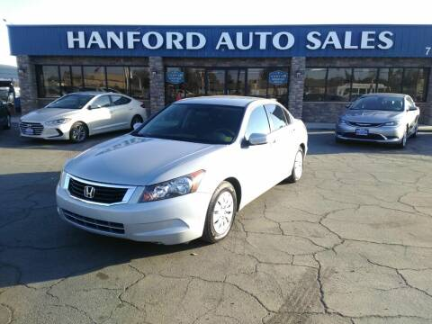 2009 Honda Accord for sale at Hanford Auto Sales in Hanford CA