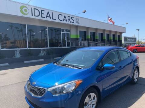 2015 Kia Forte for sale at Ideal Cars East Mesa in Mesa AZ