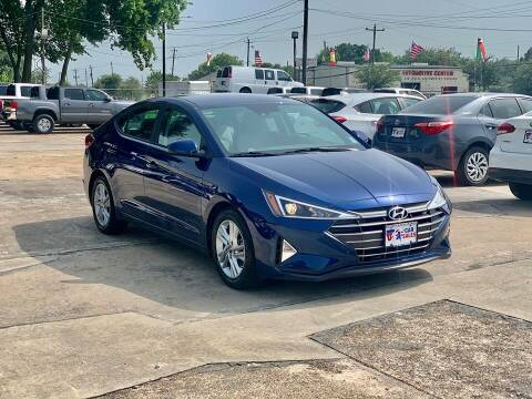 2020 Hyundai Elantra for sale at USA Car Sales in Houston TX