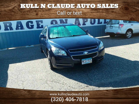 2011 Chevrolet Malibu for sale at Kull N Claude Auto Sales in Saint Cloud MN
