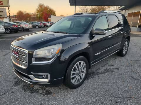 2014 GMC Acadia for sale at DON BAILEY AUTO SALES in Phenix City AL