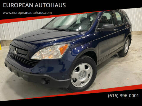 2009 Honda CR-V for sale at EUROPEAN AUTOHAUS in Holland MI