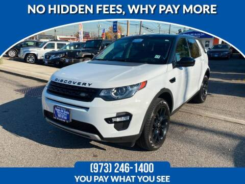 2015 Land Rover Discovery Sport for sale at Route 46 Auto Sales Inc in Lodi NJ