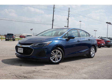2019 Chevrolet Cruze for sale at Maroney Auto Sales in Humble TX