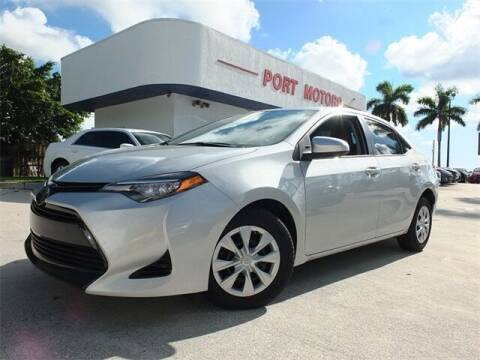 2017 Toyota Corolla for sale at Automotive Credit Union Services in West Palm Beach FL