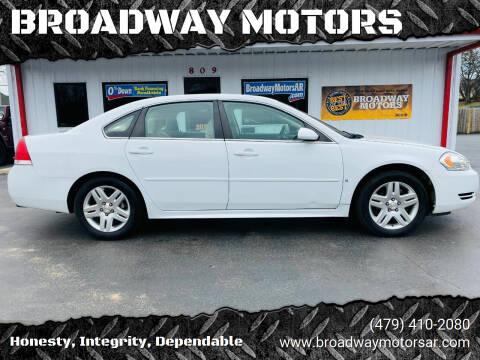 2014 Chevrolet Impala Limited for sale at BROADWAY MOTORS in Van Buren AR