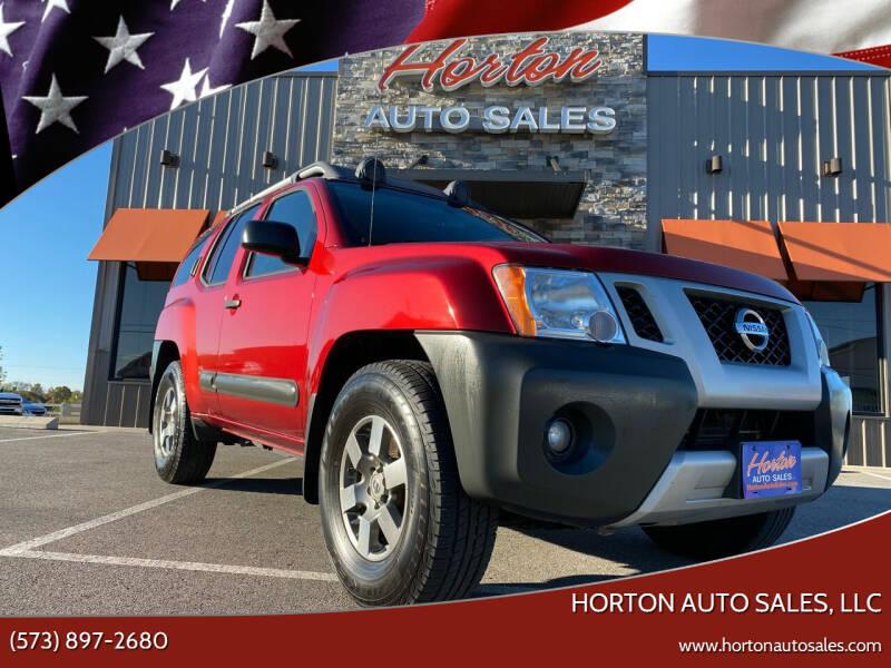 2011 Nissan Xterra for sale at HORTON AUTO SALES, LLC in Linn MO
