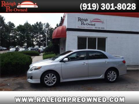 2010 Toyota Corolla for sale at Raleigh Pre-Owned in Raleigh NC