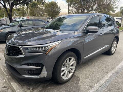 2019 Acura RDX for sale at DORAL HYUNDAI in Doral FL