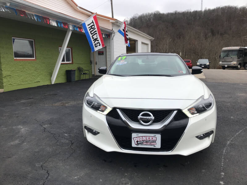 2017 Nissan Maxima for sale at PIONEER USED AUTOS & RV SALES in Lavalette WV