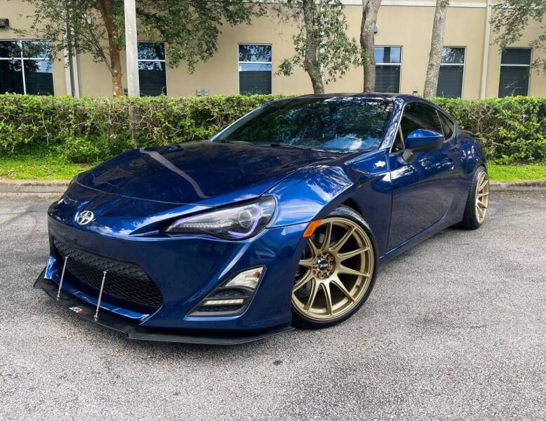 2014 Scion FR-S for sale at CARPORT SALES AND  LEASING in Oviedo FL