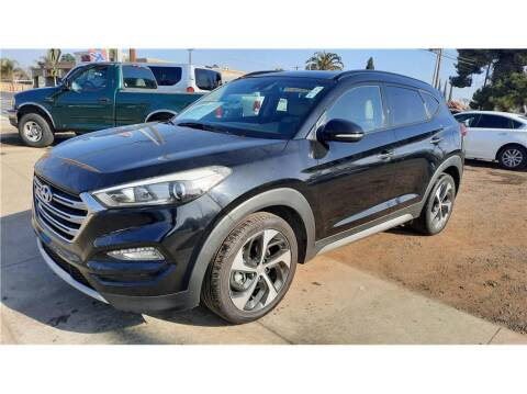 2017 Hyundai Tucson for sale at Dealers Choice Inc in Farmersville CA