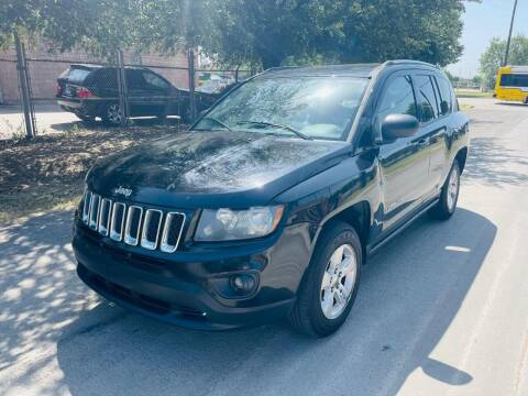 2014 Jeep Compass for sale at High Beam Auto in Dallas TX