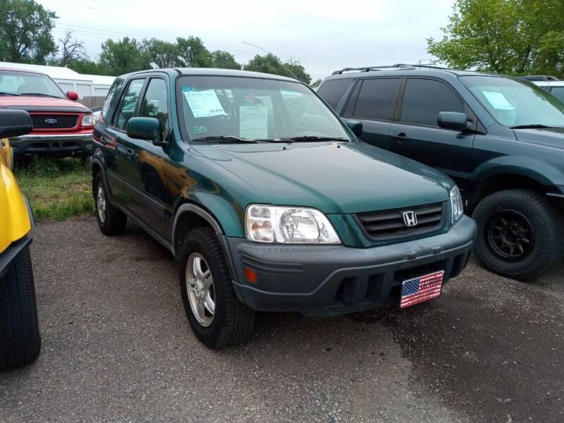 2001 Honda CR-V for sale at L & J Motors in Mandan ND