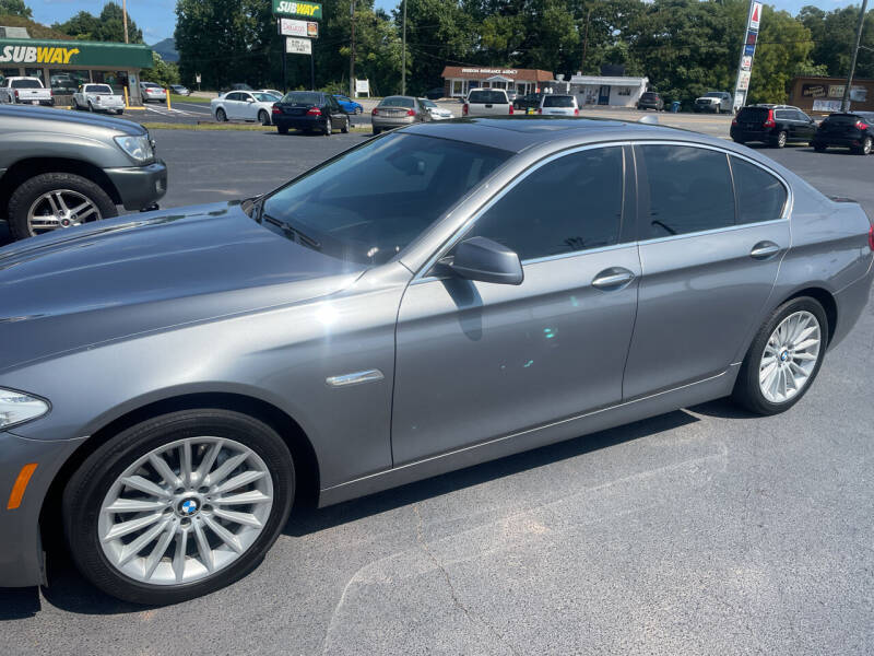 2013 BMW 5 Series for sale at Elite Auto Brokers in Lenoir NC