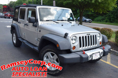 2011 Jeep Wrangler Unlimited for sale at Ramsey Corp. in West Milford NJ