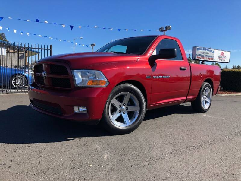 2012 RAM Ram Pickup 1500 for sale at BOARDWALK MOTOR COMPANY in Fairfield CA