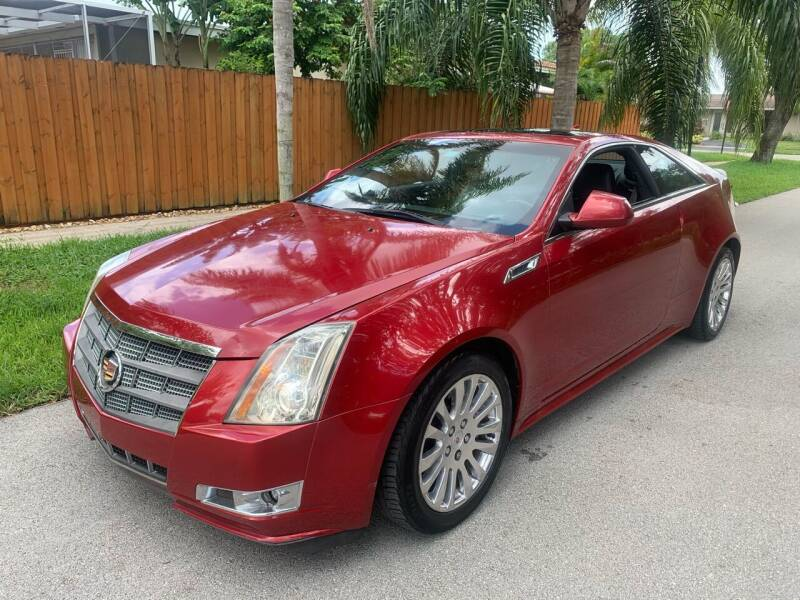 2012 Cadillac CTS for sale at FINANCIAL CLAIMS & SERVICING INC in Hollywood FL