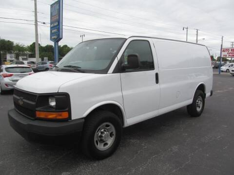 2014 Chevrolet Express Cargo for sale at Blue Book Cars in Sanford FL